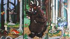 The Gruffalo, knitted by The Materialistics knitting group