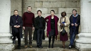 The cast of Rev