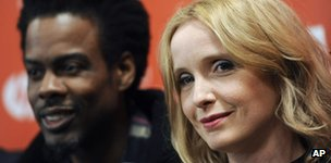 Chris Rock and Julie Delpy