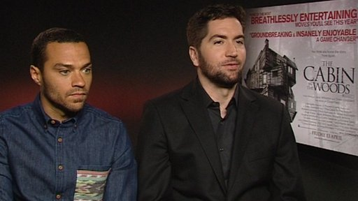 Jesse Williams and Drew Goddard
