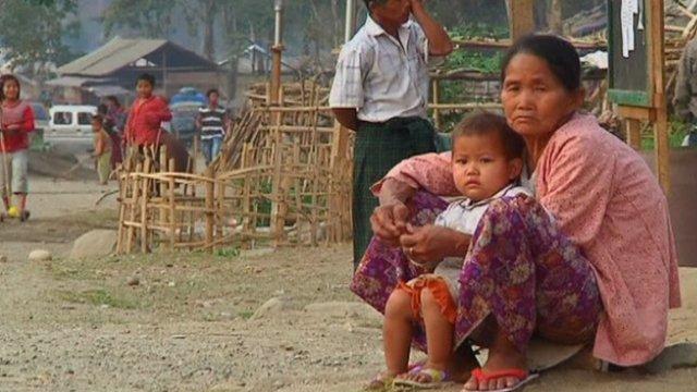 Burma's Kachin refugees