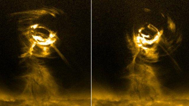 Solar tornadoes - courtesy NASA/Aberystwyth University