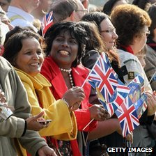 "Crowds gather as Queen Elizabeth II arrives in Valentine""s Park Redbridge"