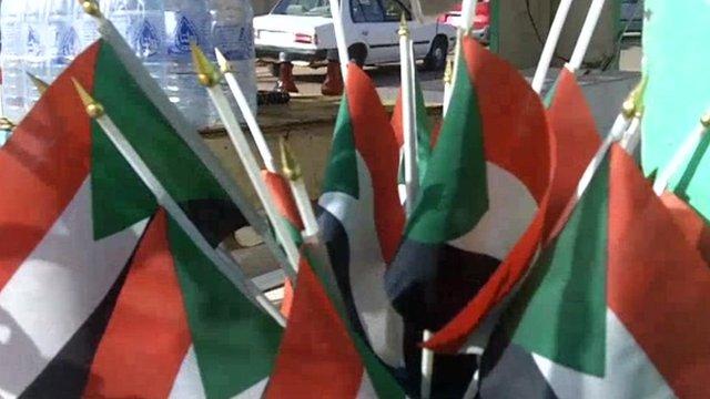 Sudan flags