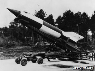 V2 rocket, Germany 1945