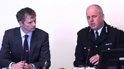 Ian Fegan, and Chief Constable Mike Cunningham from Staffordshire Police