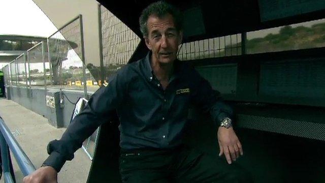 BBC MotoGP commentator Steve Parrish