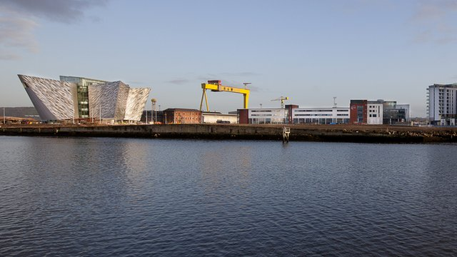 Titanic quarter waterfront