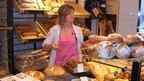 Valerie Grandmaire, owner in the bakery Saveur et Tradition in Nancy