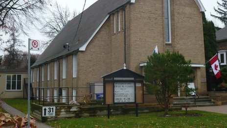 Dewi Sant Welsh United Church in Toronto