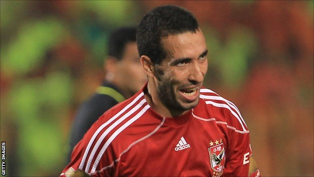 Egypt and Al Ahly's Mohamed Aboutrika