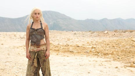 Emilia Clarke as Daenerys Targaryen