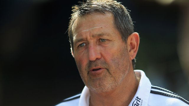 England batting coach Graham Gooch