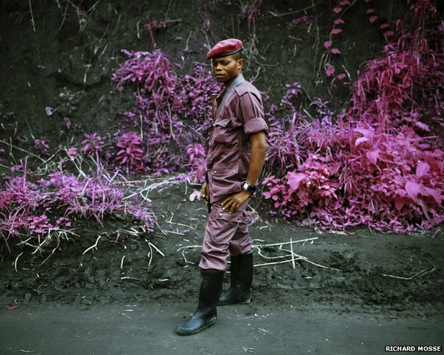 General Fevrier (Infra series), 2010 © Richard Mosse. Courtesy of the artist and Jack Shainman Gallery, NY