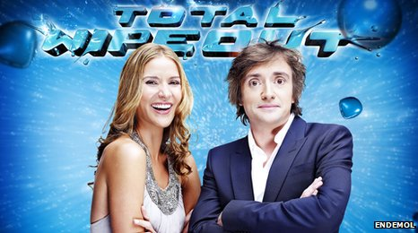 Amanda Byram and Richard Hammond