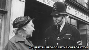 Jack Warner as Sergeant Dixon in the Dixon of Dock Green series