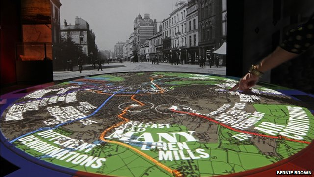 Interactive map 1900s Belfast