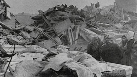 Armenian earthquake