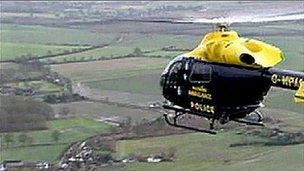 Wiltshire Police helicopter