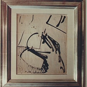 Ink on Paper by Franz Kline