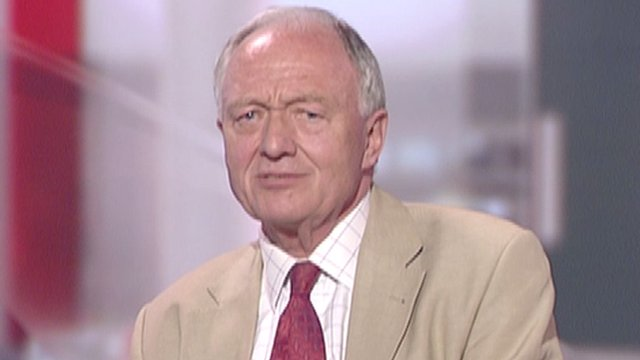 Ken Livingstone in studio