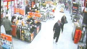 CCTV image of