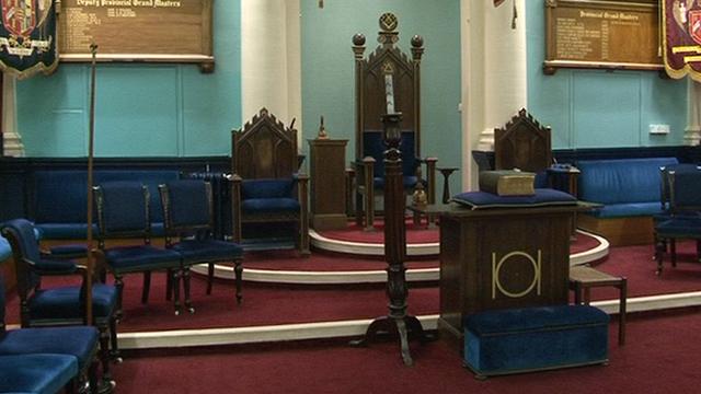 Freemason temple