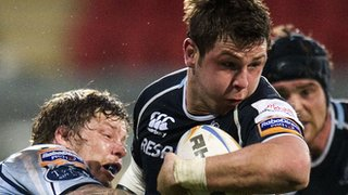 Glasgow Warriors number eight Ryan Wilson