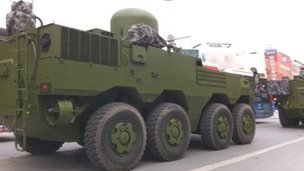 Chinese military vehicle