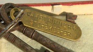 Titanic storeroom keys