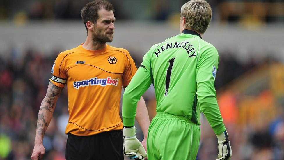 Wayne Hennessey and Roger Johnson