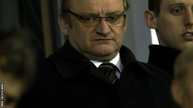 McGeoch had been hoping to launch a takeover of St Mirren