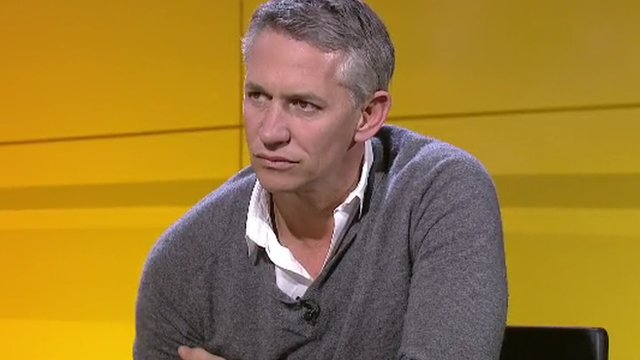 BBC presenter Gary Lineker