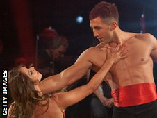 Gavin Henson on Strictly Come Dancing in 2011