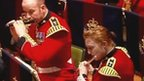 Welsh Guards band