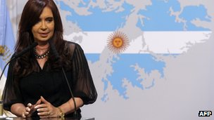 President Cristina Fernandez de Kirchner