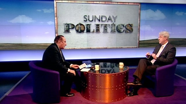 Andrew Neil and Andrew Lansley