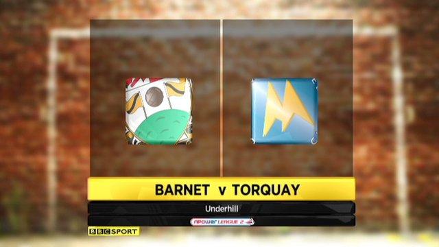 Barnet 0-1 Torquay United