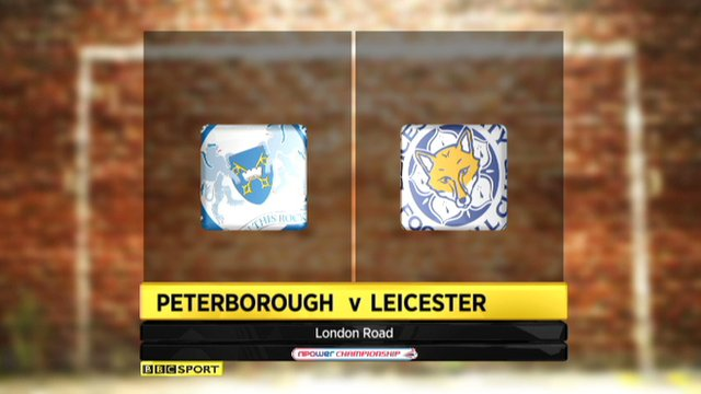 Highlights: Peterborough 1-0 Leicester