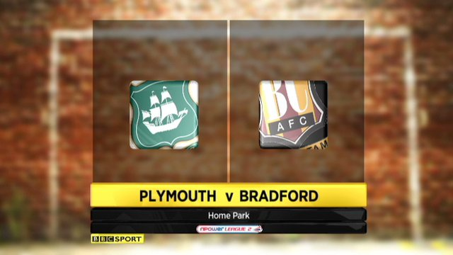 Plymouth v Bradford