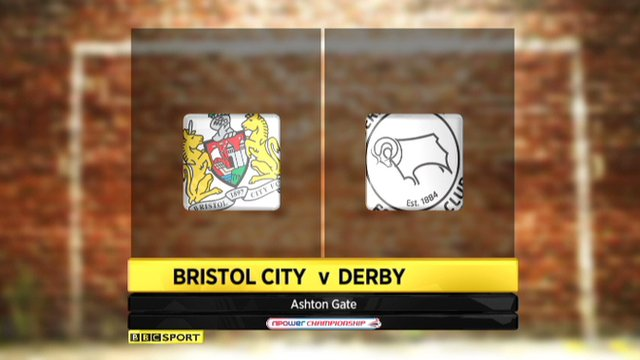 Bristol City 1-1 Derby