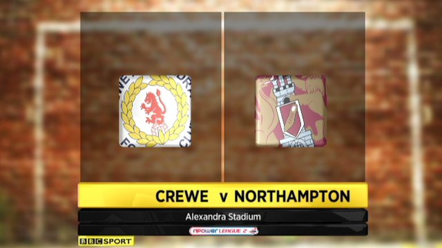 Crewe 1-1 Northampton