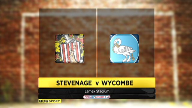 Stevenage 1-1 Wycombe