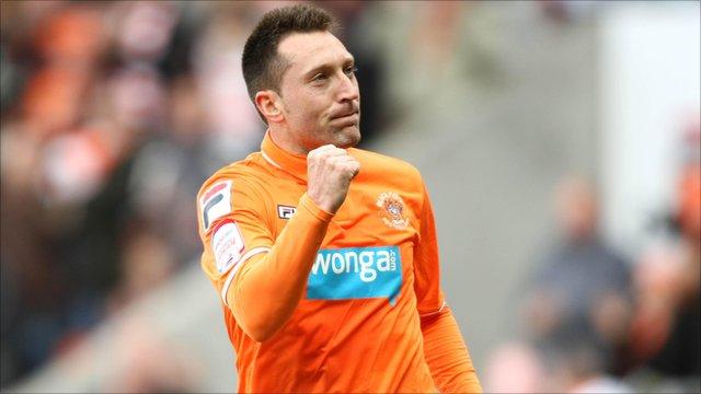 Blackpool's Stephen Dobbie