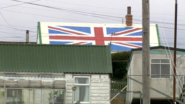 Port Stanley, the Falklands