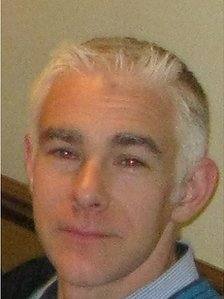 Ged Clarke, 39, from Calcot, Reading