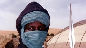 Tuareg person (file photo)