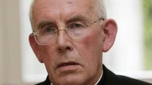 Cardinal Sean Brady said the PSNI indicated a crime had not been committed