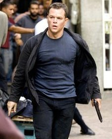 Matt Damon as the soldier-turned-CIA assassin Jason Bourne