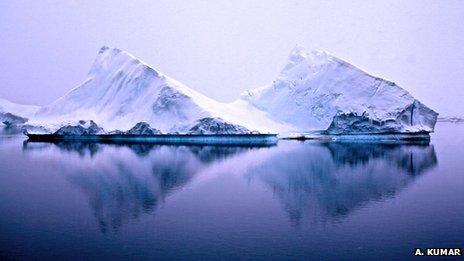 icebergs A Kumar